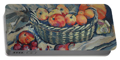 Still Life With Fruit And Vegetables Portable Battery Charger