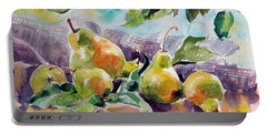 Still Life With Pears Portable Battery Charger