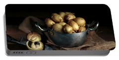 Still Life With Potatoes Portable Battery Charger