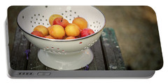 Still Life With Yellow Plums  Portable Battery Charger