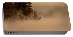 Stillness Of Autumn Portable Battery Charger by Sherman Perry