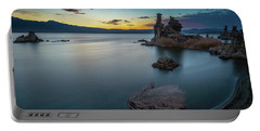 Portable Battery Charger featuring the photograph Stillness...mono Lake by Tim Bryan