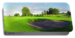 Stirling Golf Club 10th Portable Battery Charger by Jan W Faul