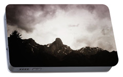 Portable Battery Charger featuring the photograph Stockhorn by Mimulux patricia no No