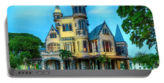 Portable Battery Charger featuring the photograph Stollmeyer Castle Trinidad by Rachel Lee Young