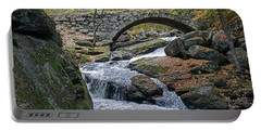 Stone Arch Bridge In Autumn Portable Battery Charger