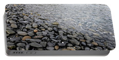 Portable Battery Charger featuring the photograph Menorca Pebble Beach  by Pedro Cardona