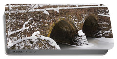 Portable Battery Charger featuring the photograph Stone Bridge At Bullrun Virginia by Heidi Poulin