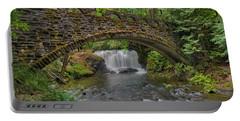 Stone Bridge At Whatcom Falls Park Portable Battery Charger