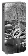 Stone-bridge Portable Battery Charger by John Scates
