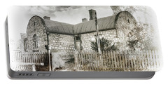 Portable Battery Charger featuring the photograph Stone Cottage by Wayne Sherriff