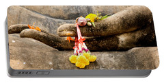 Stone Hand Of Buddha Portable Battery Charger