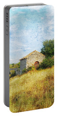 Provence Countryside Portable Battery Charger by Catherine Alfidi