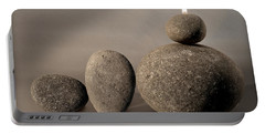 Stone Light Portable Battery Charger by Pedro Cardona