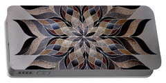 Stone Mandala Portable Battery Charger