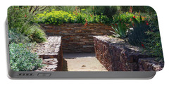 Stone Walkway Portable Battery Charger