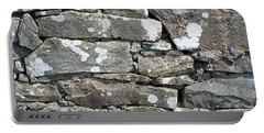 Stone Wall Detail Doolin Ireland Portable Battery Charger