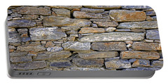 Stone Wall Portable Battery Charger by Nareeta Martin