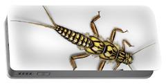 Stonefly Larva Nymph Plecoptera Perla Marginata - Steinflue -  Portable Battery Charger