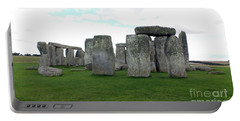Portable Battery Charger featuring the photograph Stonehenge 1 by Francesca Mackenney
