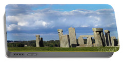 Portable Battery Charger featuring the photograph Stonehenge 4 by Francesca Mackenney