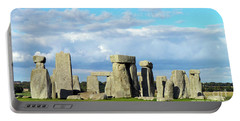 Portable Battery Charger featuring the photograph Stonehenge 5 by Francesca Mackenney