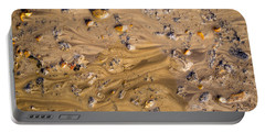 Stones In A Mud Water Wash Portable Battery Charger