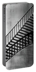 Storage Stairway Portable Battery Charger by Christopher McKenzie