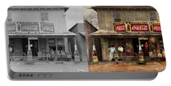 Store - Grocery - Mexicanita Cafe 1939 - Side By Side Portable Battery Charger by Mike Savad