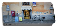 Storefront In Rome Portable Battery Charger