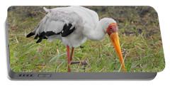 Portable Battery Charger featuring the photograph Stork by Betty-Anne McDonald