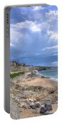 Storm Approaching Porthleven Portable Battery Charger