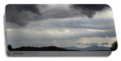 Storm At Lewis Fork Overlook 2014b Portable Battery Charger