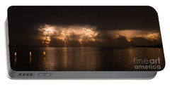 Storm Before Dawn Portable Battery Charger by Quinn Sedam