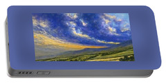 Storm Brewing In Donegal Portable Battery Charger