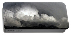 Storm Clouds Are Brewin' Portable Battery Charger by Methune Hively