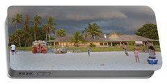 Portable Battery Charger featuring the photograph Storm Clouds Arriving by Carol  Bradley