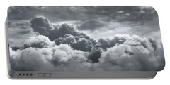 Storm Clouds Over Sheboygan Portable Battery Charger