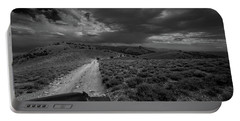 Storm Clouds Over The 4x4 Trail Portable Battery Charger