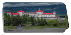 Storm Clouds Over The Mount Washington Hotel Portable Battery Charger