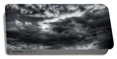 Storm Clouds Ventura Ca Pier Portable Battery Charger