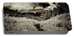 Storm In The Highlands, Summit County, Colorado Portable Battery Charger