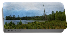 Storm On Raquette Lake Portable Battery Charger