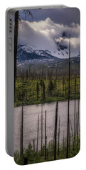 Portable Battery Charger featuring the photograph Storm On Three Fingered Jack by Cat Connor