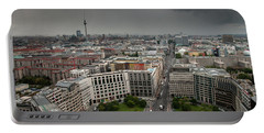 Portable Battery Charger featuring the photograph Storm Over Berlin by Geoff Smith