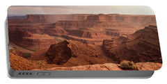 Storm Over Canyonlands Portable Battery Charger