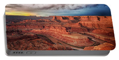 Storm Over Dead Horse Point Portable Battery Charger