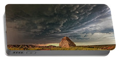 Storm Over Dinosaur Portable Battery Charger