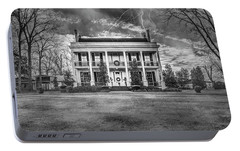Portable Battery Charger featuring the photograph Storm Over Loyd Hall Plantation by Andy Crawford
