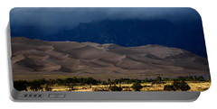 Storm Over The Great Dunes Colorado  Portable Battery Charger